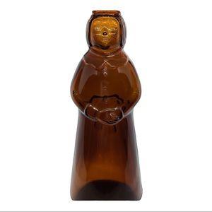 3-D Vintage Mrs Buttersworth Glass Syrup Bottle